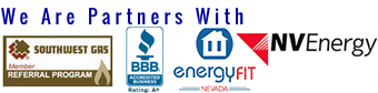 Partners with SouthWest gas & NV Energy, BBB